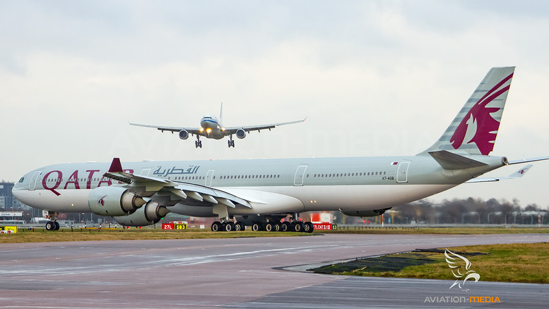 Qatar Airbus A340-600 A7-AGB