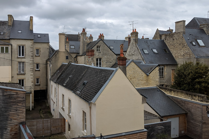 Bayeux roof tops