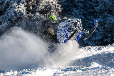 2018 Yamaha Sidewinder 153 LT Demo Sled Pics