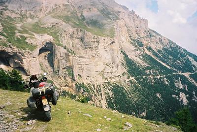 Monte Jafferau, 2802 meter hoog