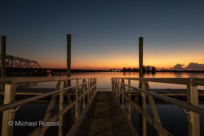 Savannah River Sunrise