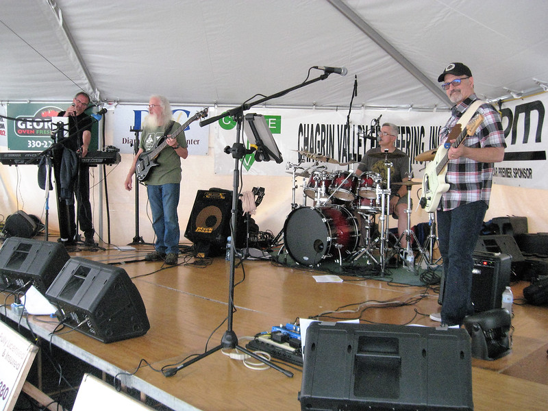 BOB SANDRICK / GAZETTE Last Call, a classic rock and blues band, performs Saturday at the 2017 Summer Celebration in Brunswick.