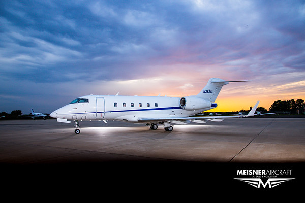 Challenger 300 N363CL (High Res w/Logo)