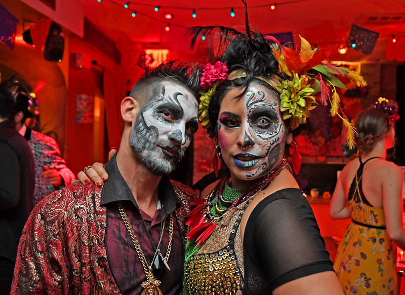 Vida y Muerte Halloween Party at Casa Bocado