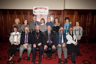 Pictured are the Newry Drama Festival Committee at the launch of the 2016 Newry Drama Festival. R1551007