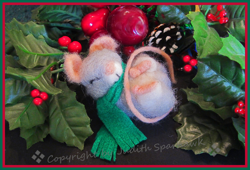 Not a Creature Was Stirring, Not Even a Mouse - Judith Sparhawk