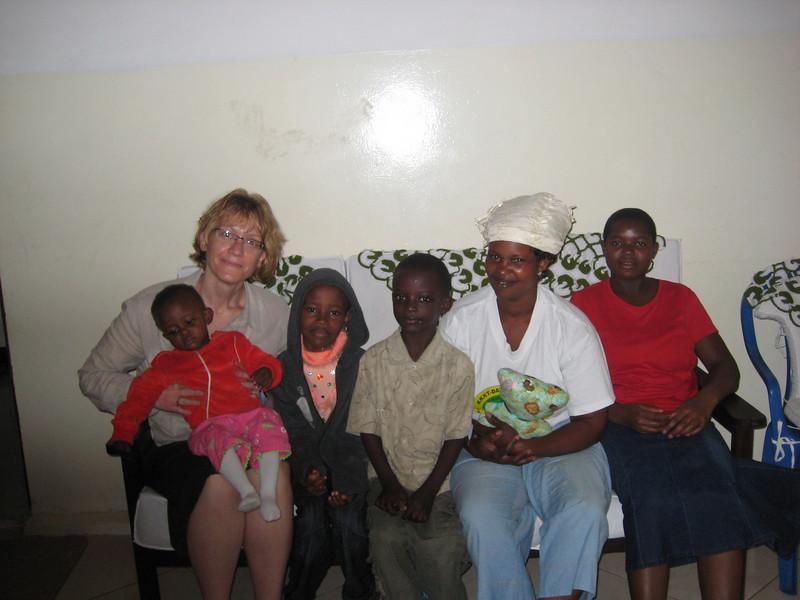 D6 Host family and me.JPG