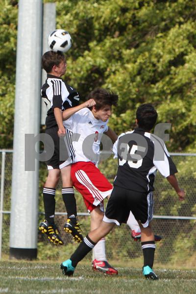 JV boys soccer at Bethel 9/13/10