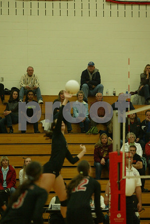 Lowell district volleyball