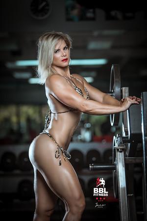 Tania at Gym