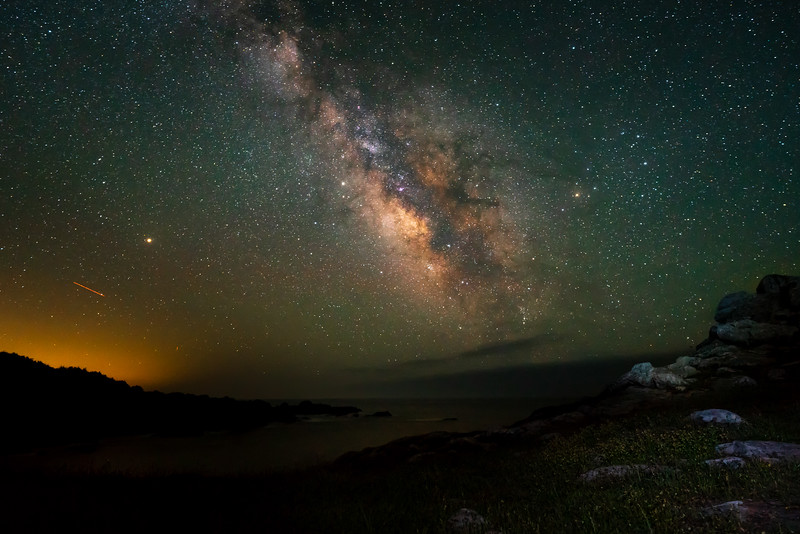 Milky Way at Gerstle Cove