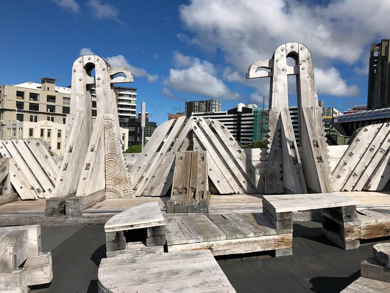 Sea to City Bridge in Wellington