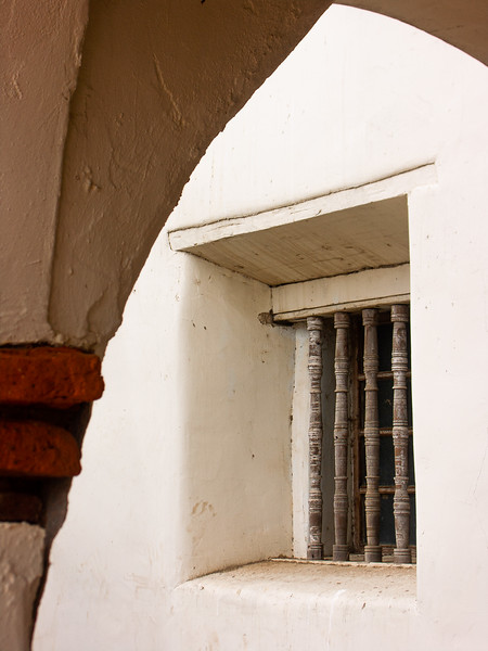 Window, Mission San Juan Bautista, California, 2006