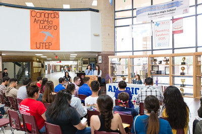 Americas High School Signing Andrea Lucero