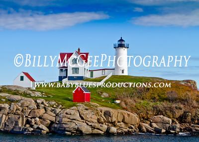 Maine - Nubble Lighthouse - 12 Oct 10