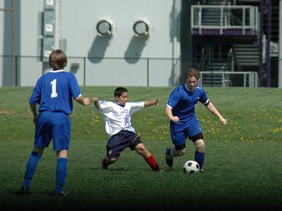 Pumas Club Soccer Action