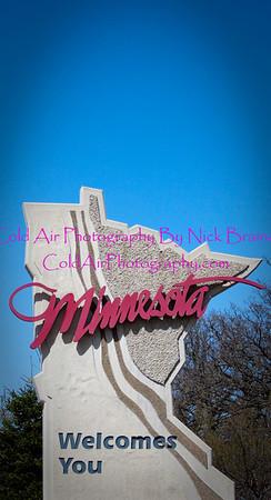 Minnesota/Iowa Border