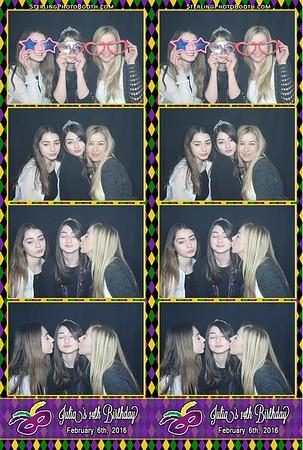 Julia's 14th Birthday