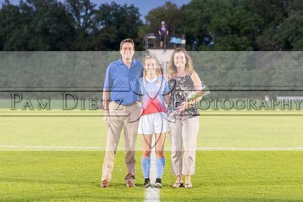 USJ girls soccer Senior Night 9-25-18