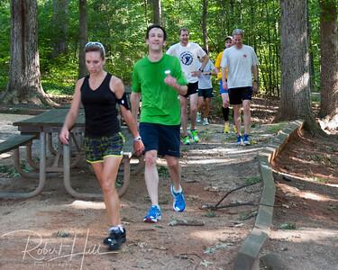 2013 Miler Park Breakfast Run