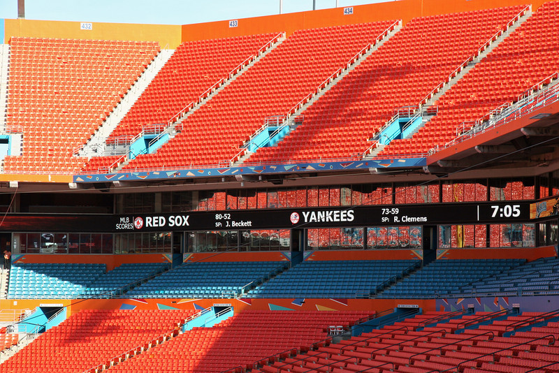 BASEBALL PARKS - DOLPHIN STADIUM - FLORIDA MARLINS