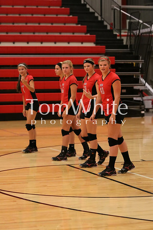 Mena vs Mansfield - 9th Grade Volleyball 2012