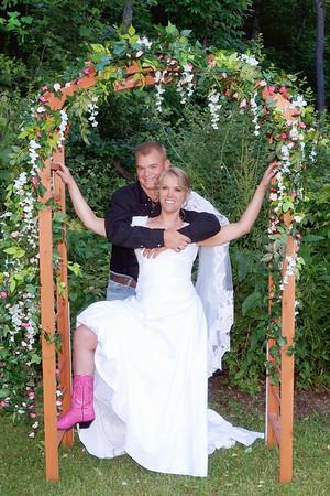 James and Serena's Wedding