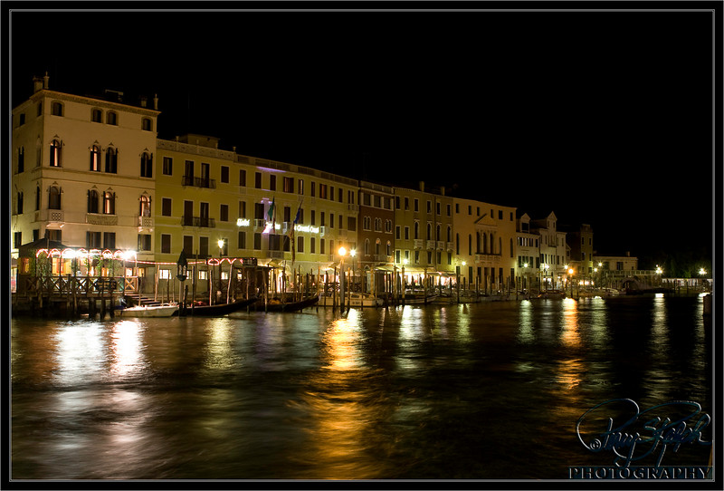 Grand Canal Night and LIghts