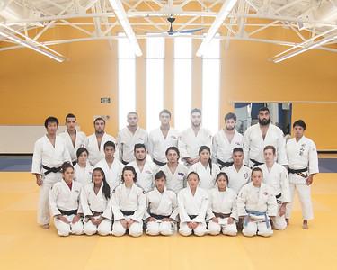 SJSU Judo Team 2015