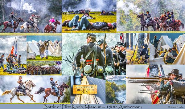 Postcard - Battle of Pilot Knob