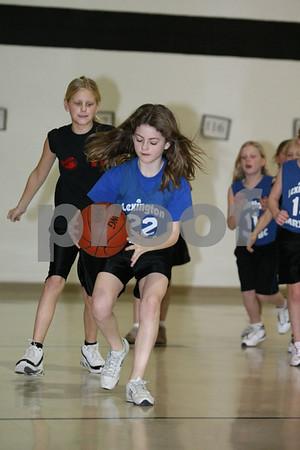 Girls 23-Odessa Optimist Club vs Lexington1 1-24-09
