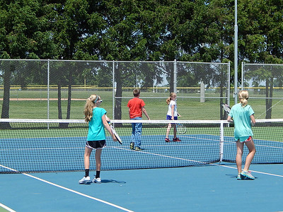 Greensburg Youth Tennis Camp 2013