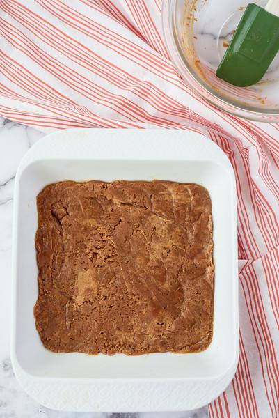PB Cheesecake bars