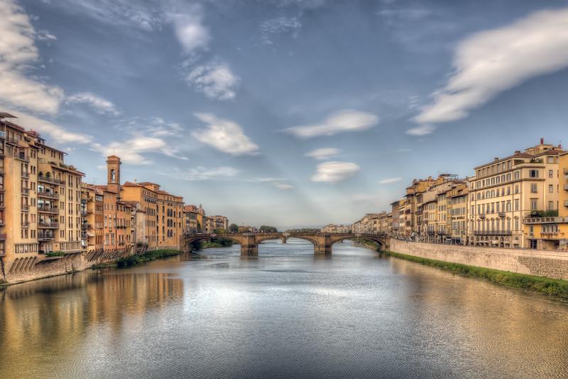 Santa Trinità Bridge - Florence, Italy - October 25, 2009