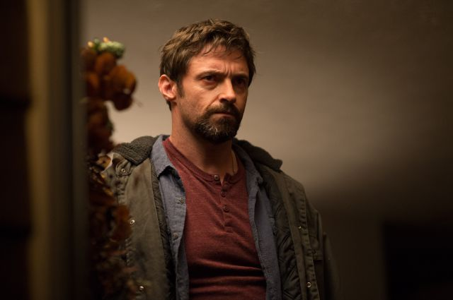 Description of . This image released by Warner Bros. Pictures shows Hugh Jackman in a scene from