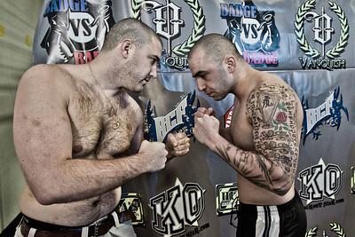 """Badge vs Badge """"MMA The Rage"""""""