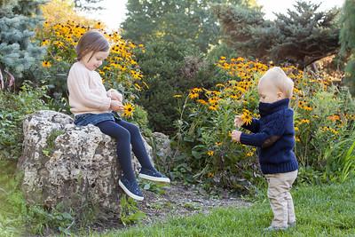 Ali + Ben at the Peace Garden