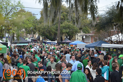 St. Patricks Day Block Party in 5 Points - 3.17.14