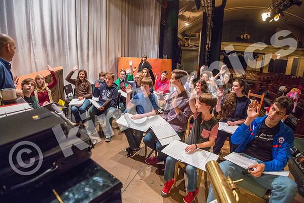 Peter Pan-Rehearsal