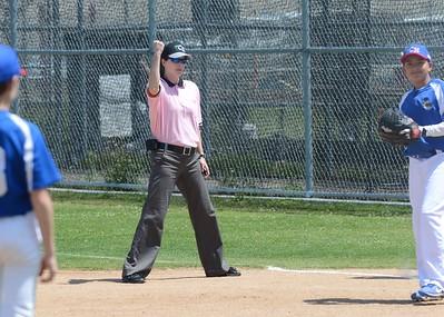 Lady Umpires @ Clairemont Hilltopper's Baseball