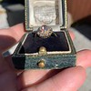 1.97ctw Antique Cluster Ring, GIA G SI2 38