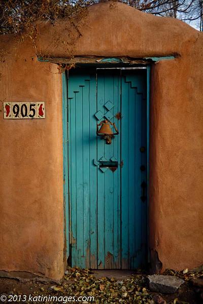 Doorway In Canyon Road