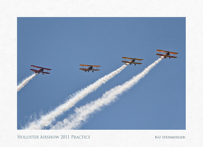 Hollister Airshow 2011 and Practice