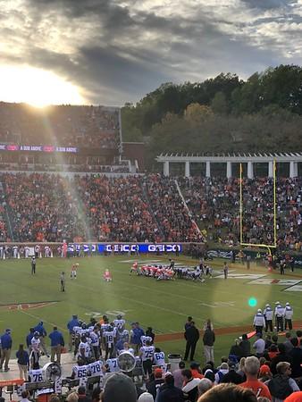 2019 UVA Football vs Duke