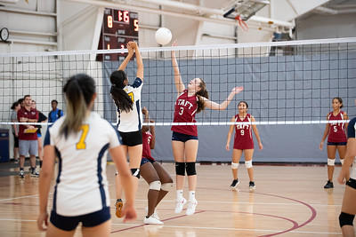 10/2/19: Thirds Volleyball v Choate
