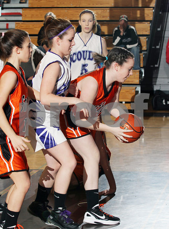 2012 Smethport Girls JV Basketball @ Coudersport