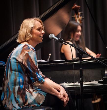 Monika Herzig and the Whole World in Her Hand Band
