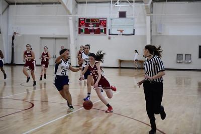 2/25/17: Girls' JV Basketball v Hotchkiss