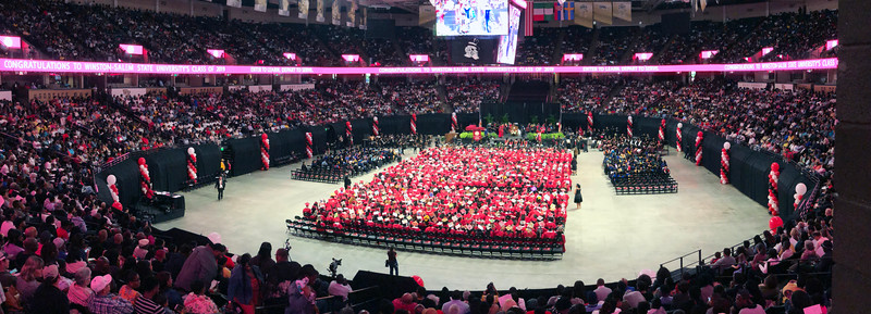 Winston-Salem State University Commencement 2019