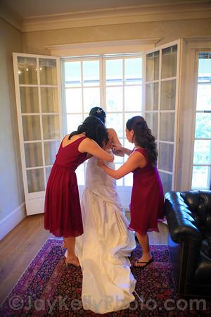 Stephanie and John's wedding